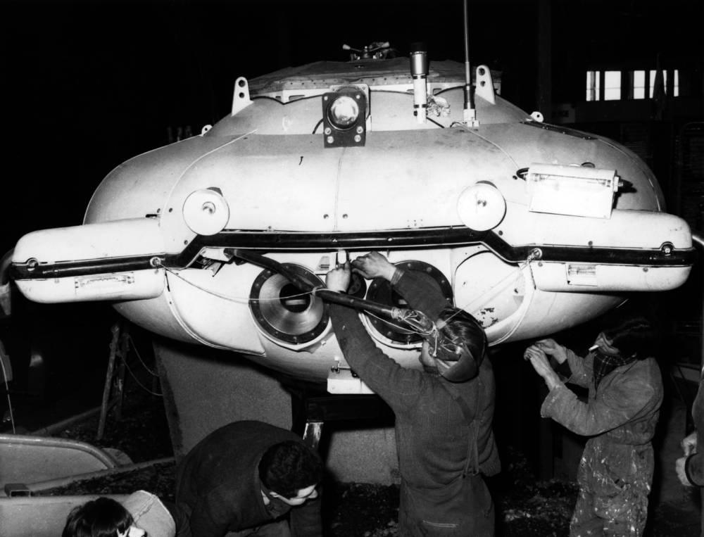 Das U-Boot der Précontinent II
