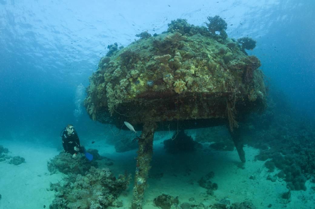 Das Unterwasserdorf im Roten Meer