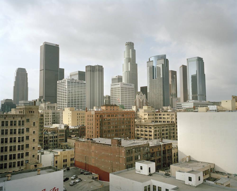 Blick auf die Downtown von L.A.