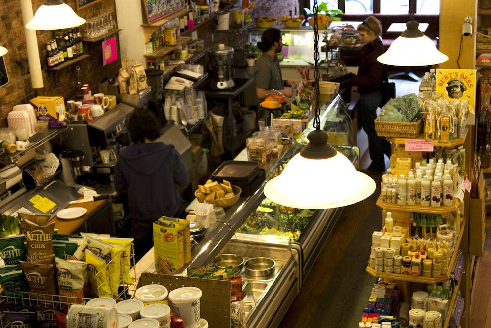 Viele New Yorker lieben es gesund. Entsprechend viele solcher Health-Food-Läden gibt es