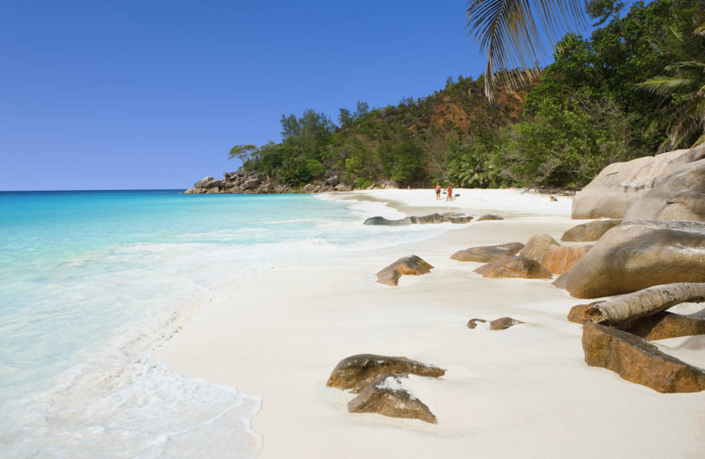 Einer der schönsten Strände der Seychellen: Anse Georgette
