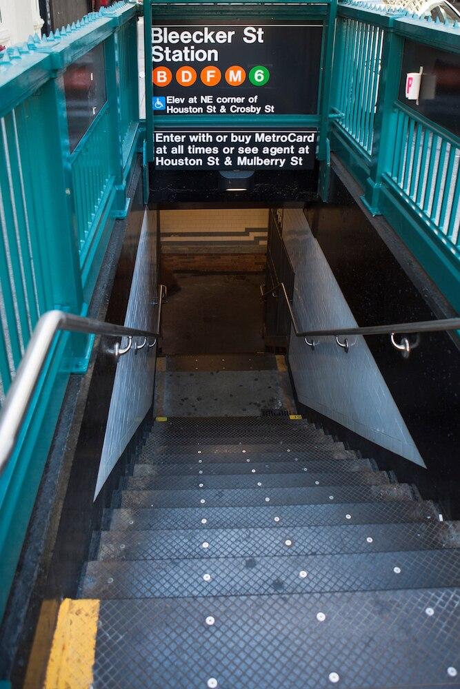 Eingang zur Bleecker St Station