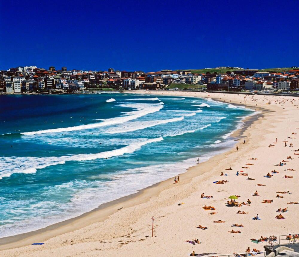 Der weltberühmte Bondi Beach in Sydney