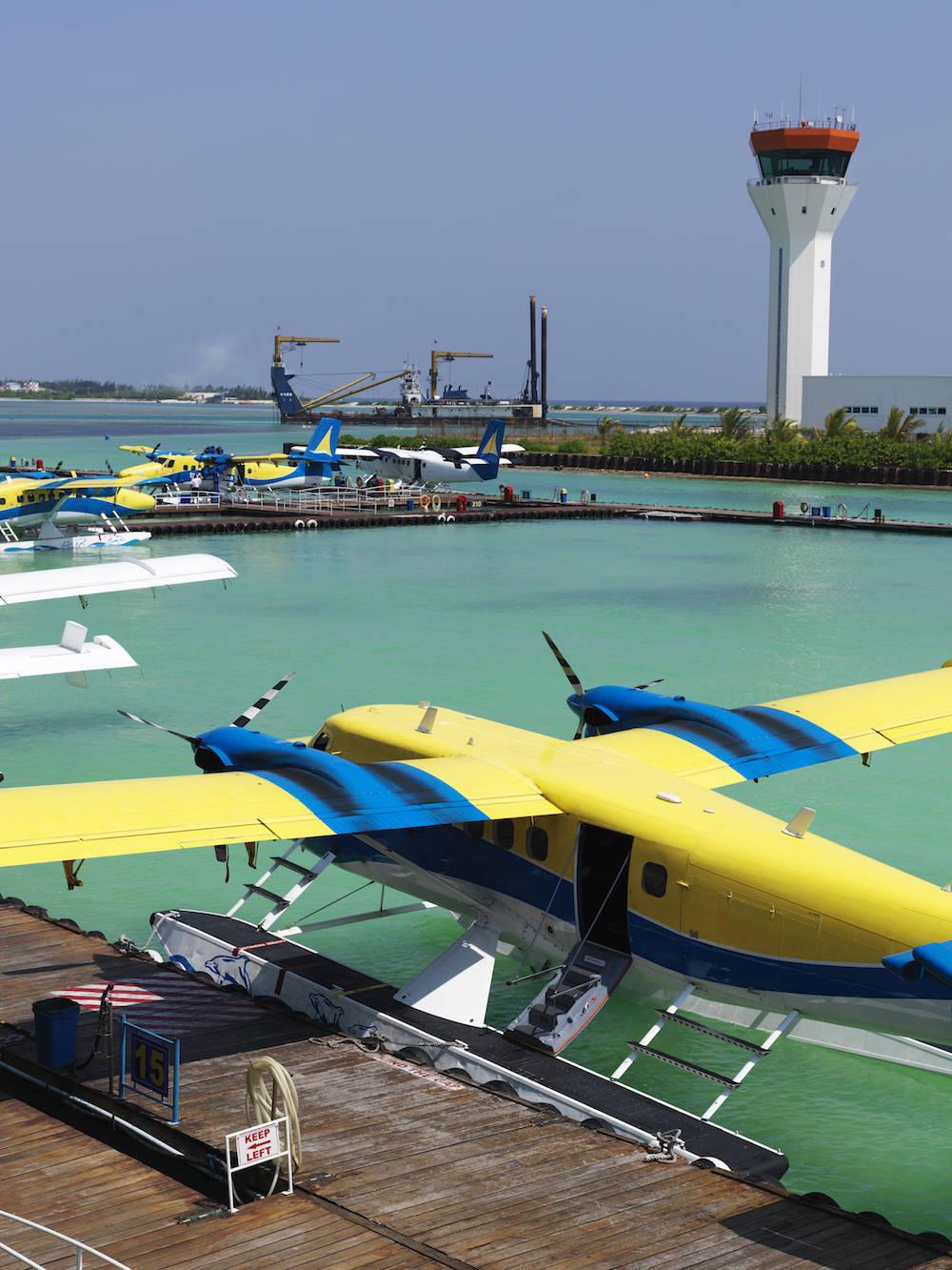 Teuer: die Anreise mit dem Wasserflugzeug