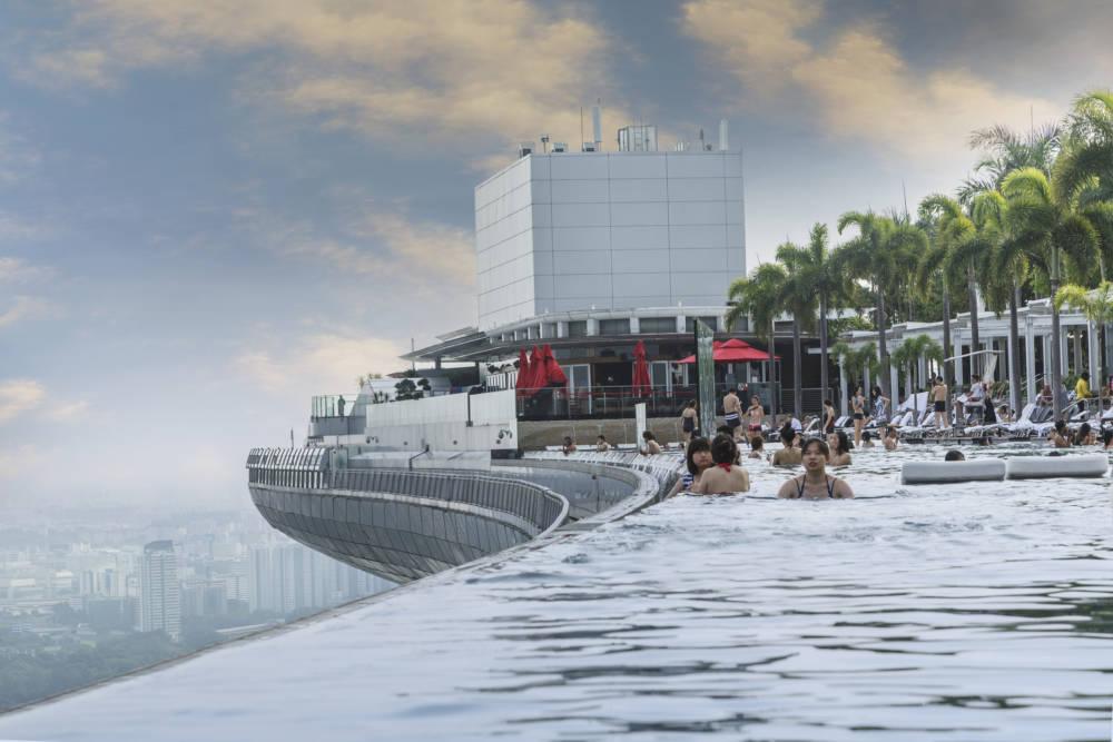 Infinity Pool Marina Bay Sands Hotel