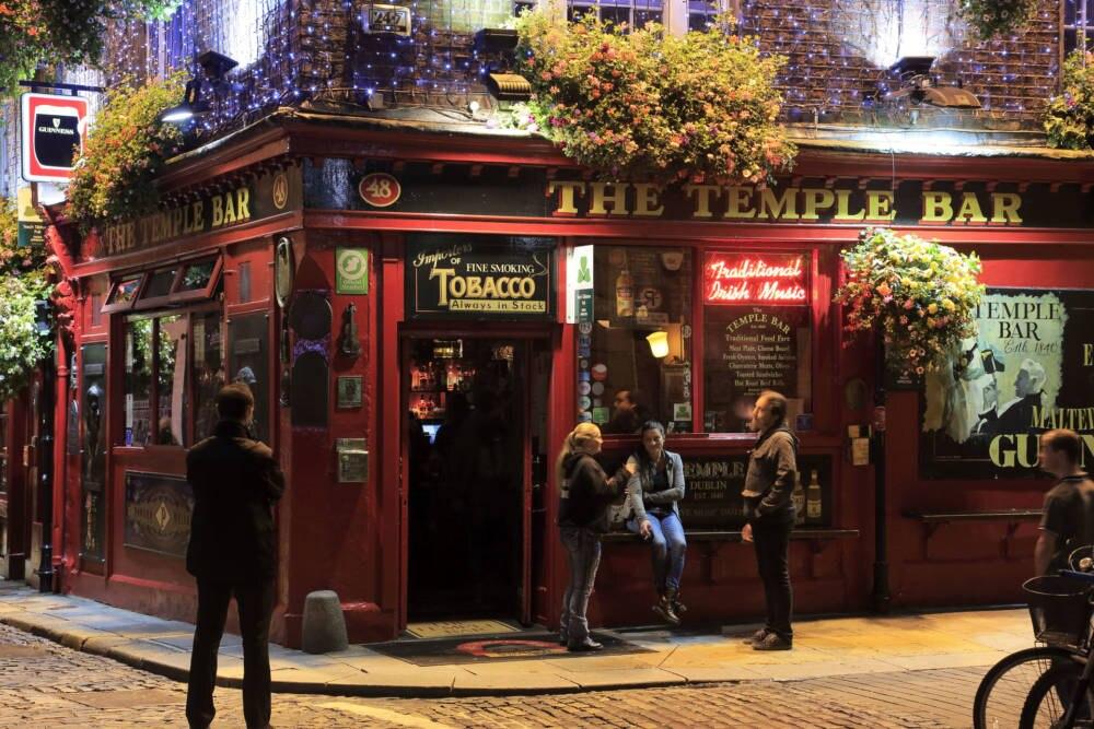 Die legendäre Temple Bar in Dublin