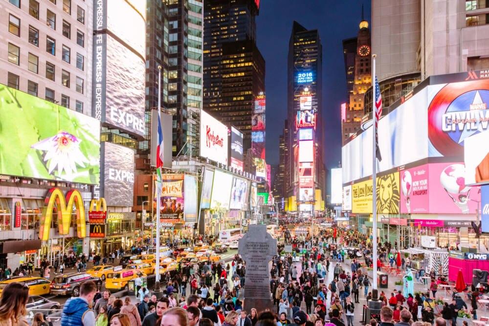 Der Times Square, das Herz von New York