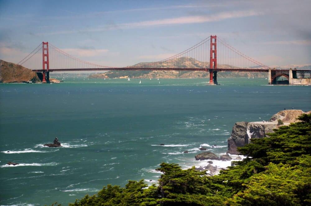 Die Golden Gate Bridge vor den Toren San Franciscos