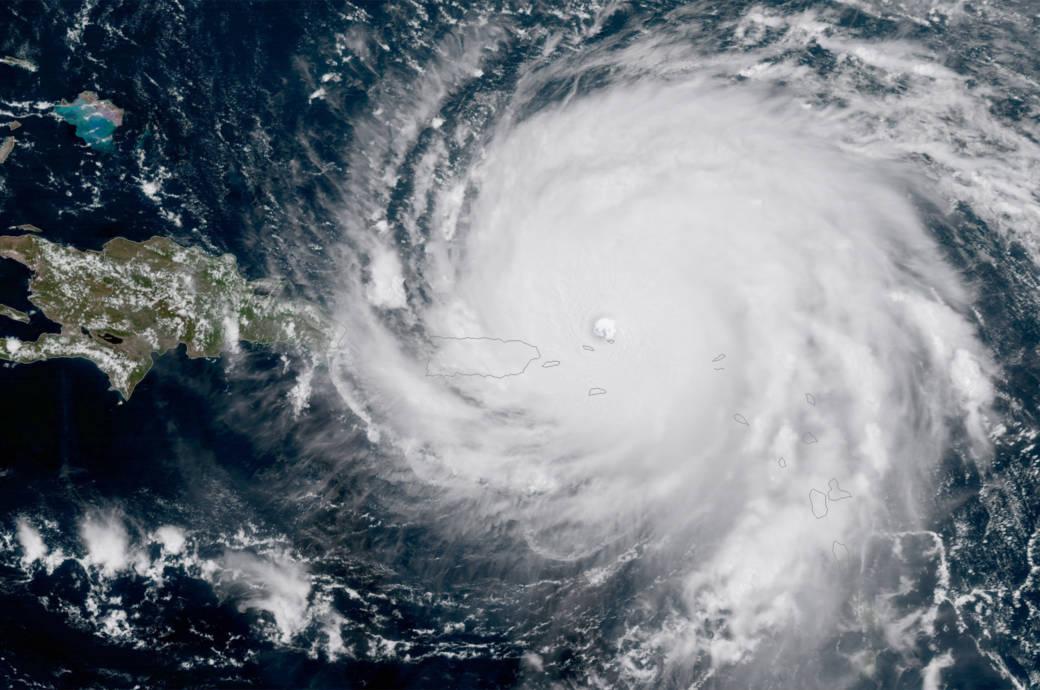 """Hurrikan """"Irma"""" steuert auf Puerto Rico zu"""