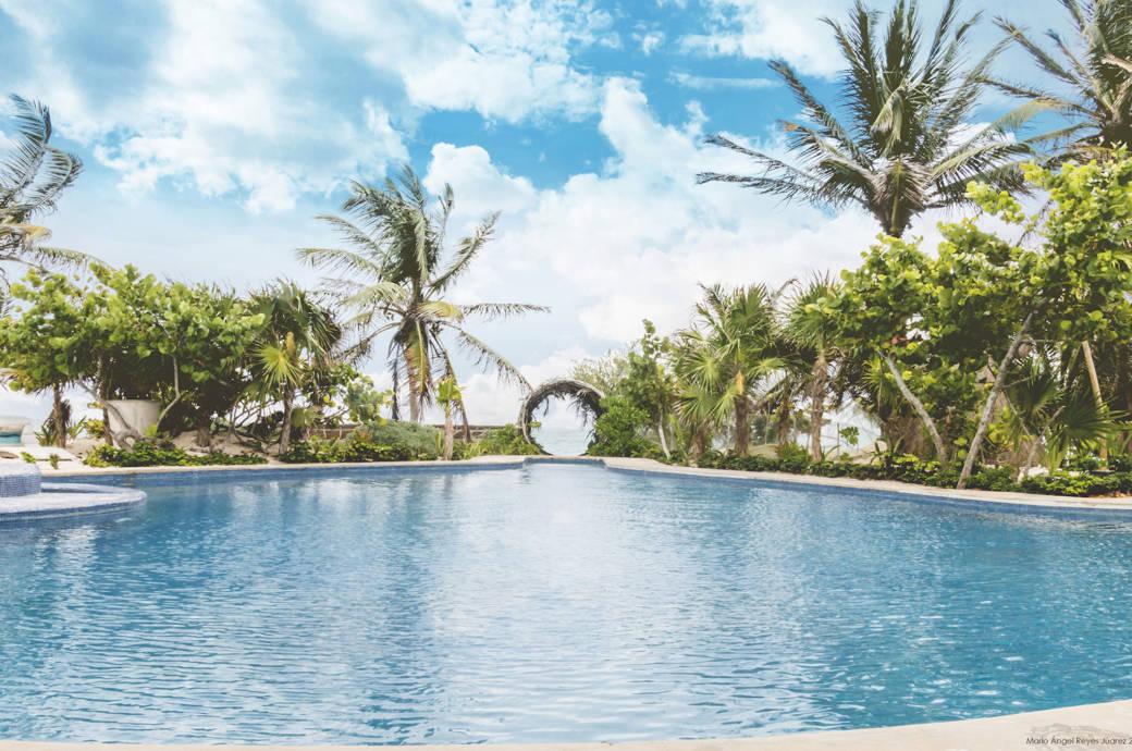 Einer der Pools der Casa Malca