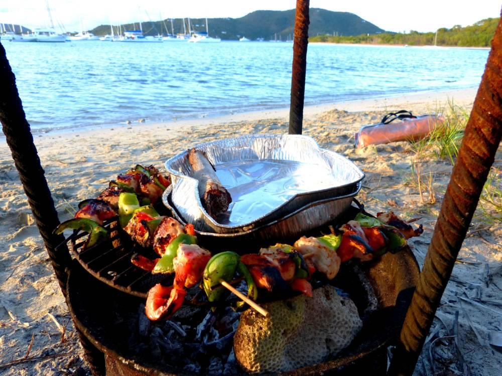 Das Barbecue sieht nicht nur lecker aus, sondern schmeckt auch noch so