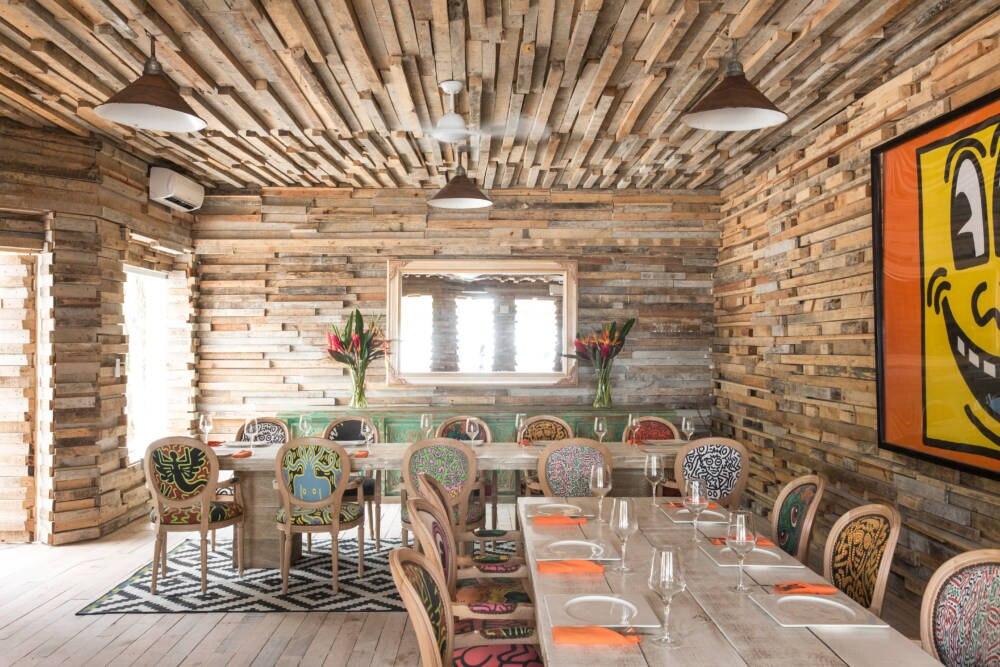 Ein Restaurant der Casa Malca
