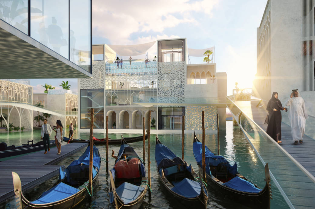 Floating Venice in Dubai