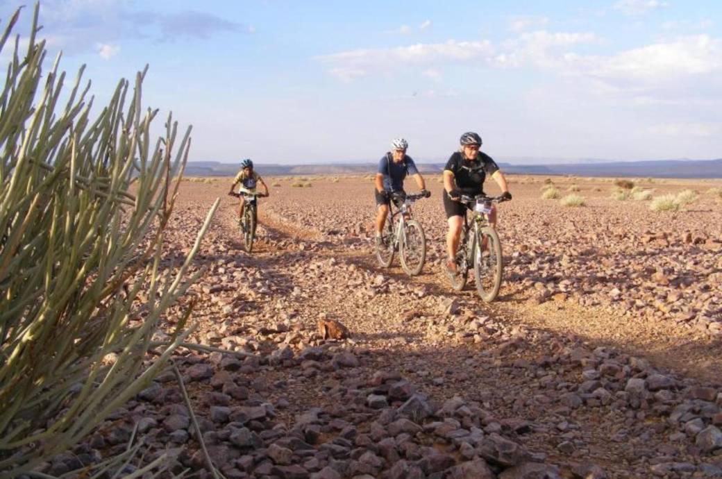 Radfahrer, Afrika