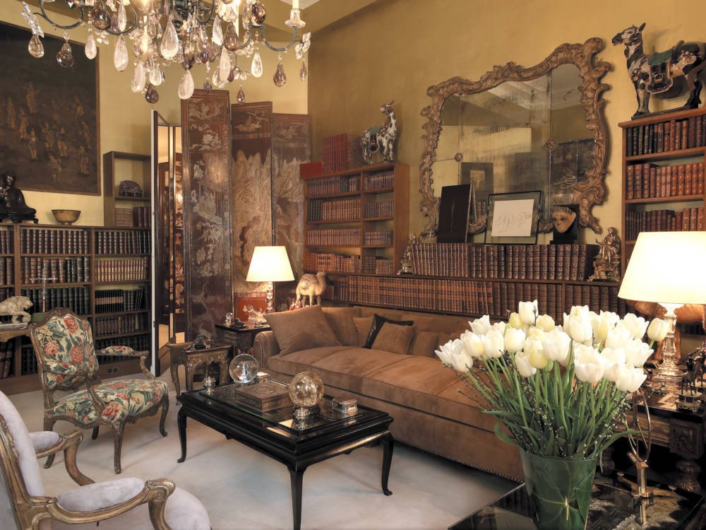 Appartment von Coco Chanel - Salon