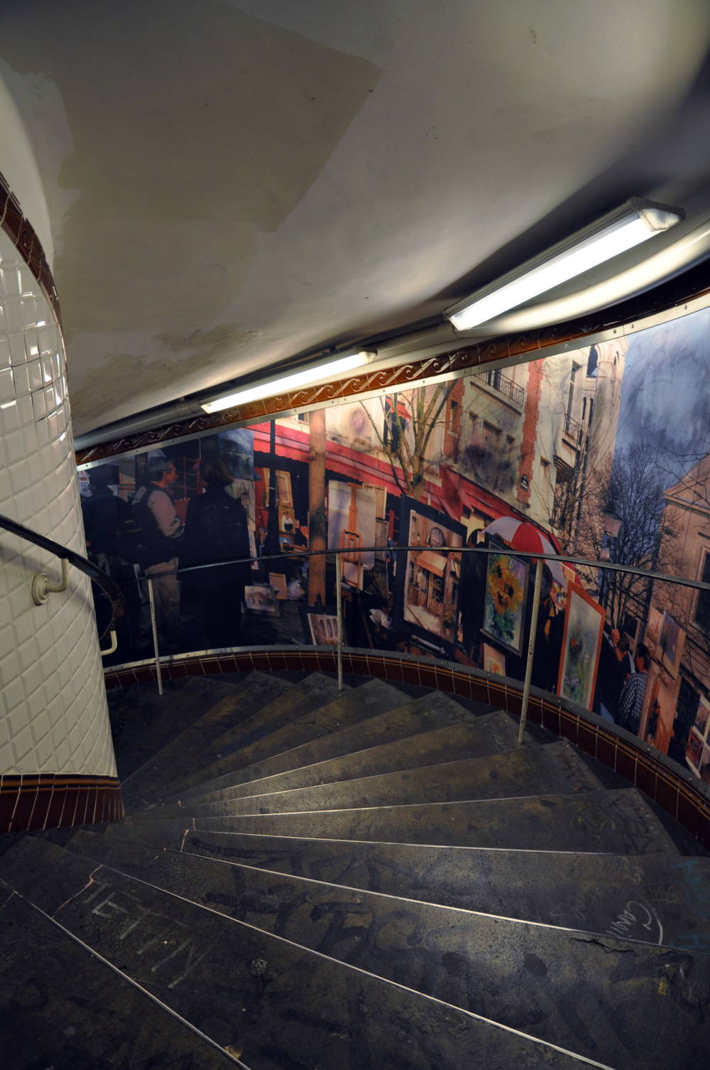 Metro-Station Abbesses, Paris