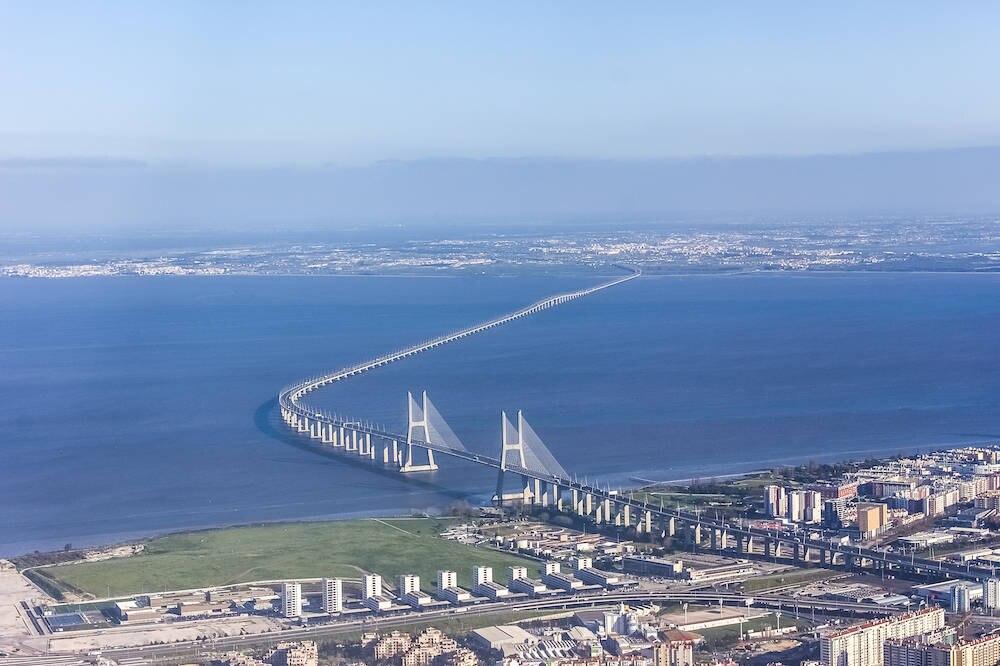 Die längste Brücke Europas: die Ponte Vasco da Gama