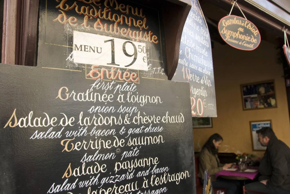 Paris, Restaurant