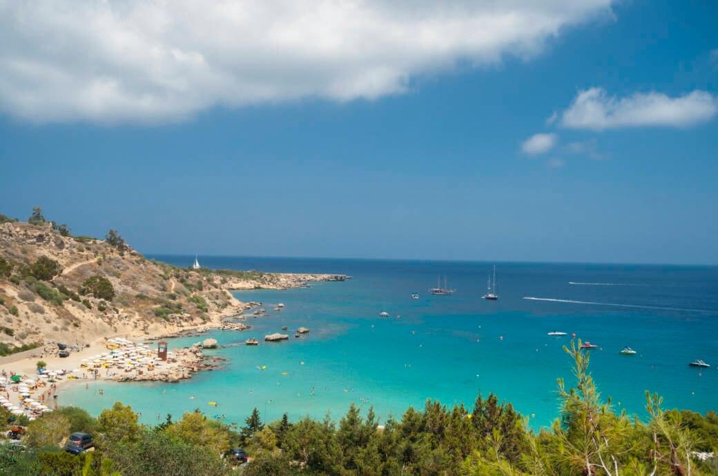 Konnos-Bucht auf Zypern