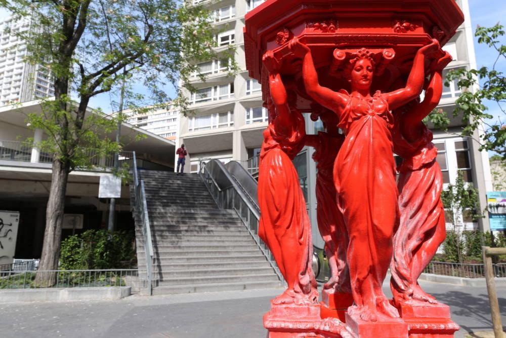 Wallace-Brunnen, Paris