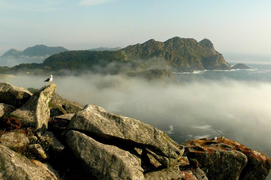 San Martiño Insel, Galizien