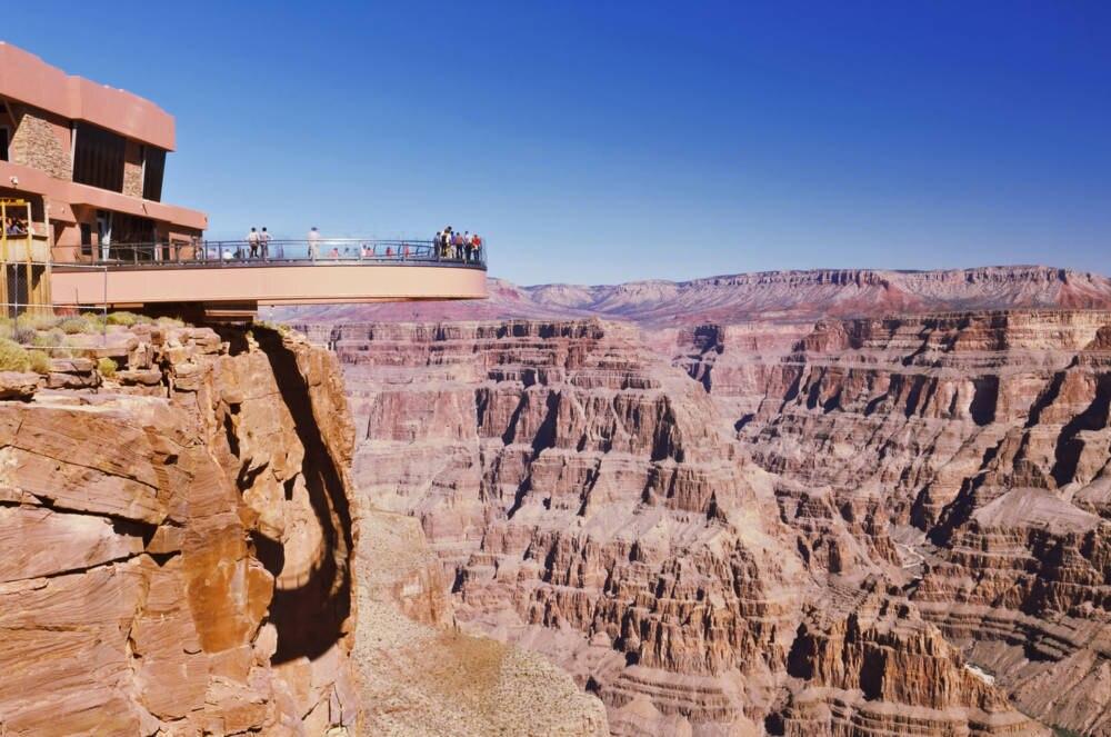Der Grand Canyon Skywalk