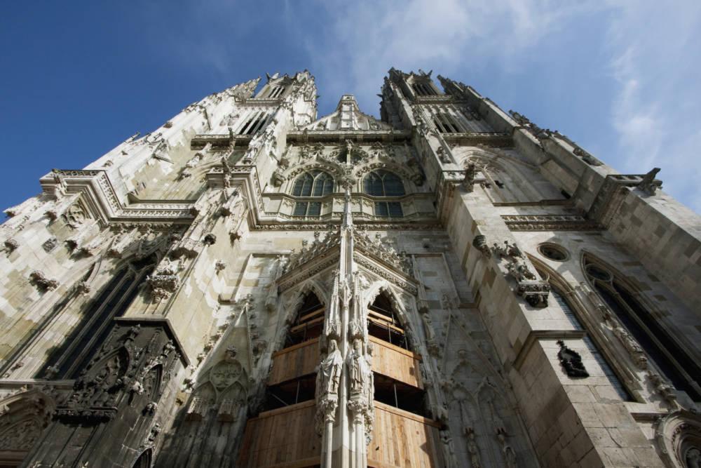 Ein bisschen Sightseeing und Geschichte darf auch in Regensburg sein: der Dom ist das Wahrzeichen der Stadt