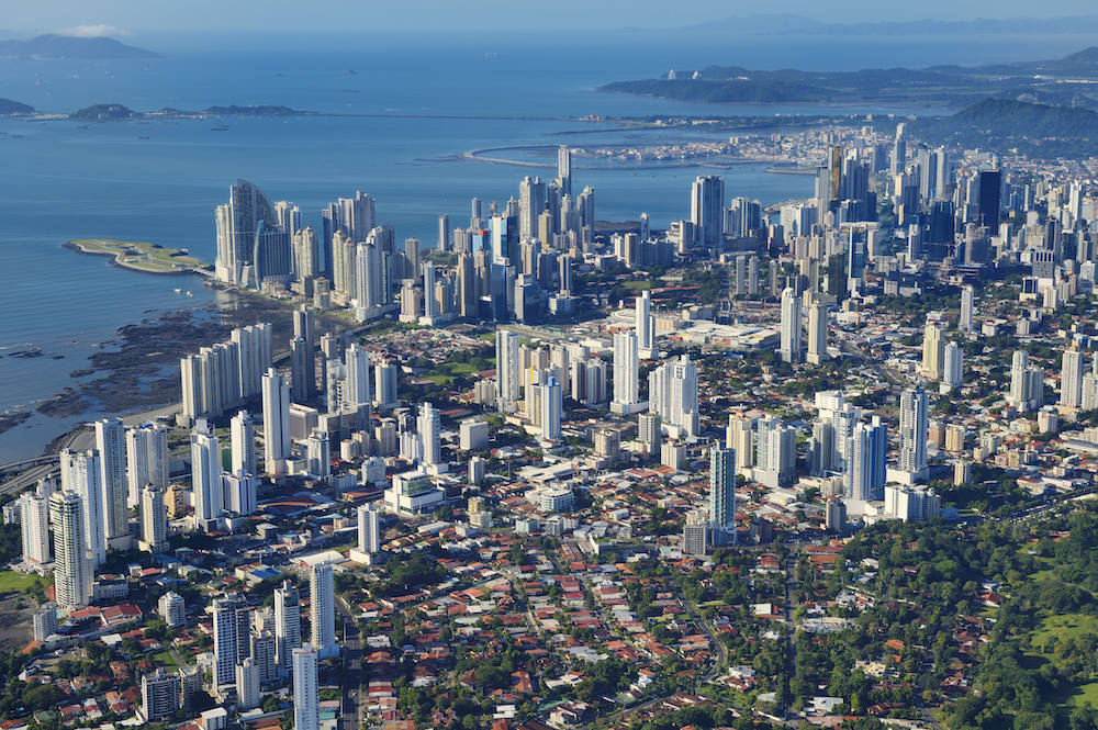 Fantastischer Blick über Panama-Stadt