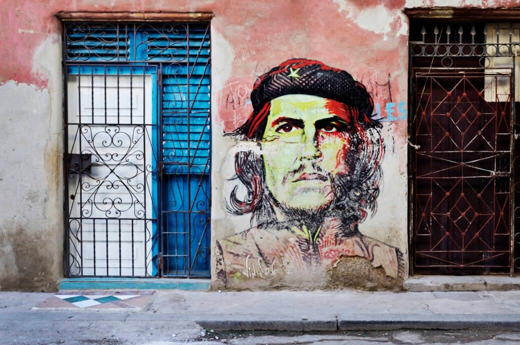 Che Guevara, Havanna, Kuba