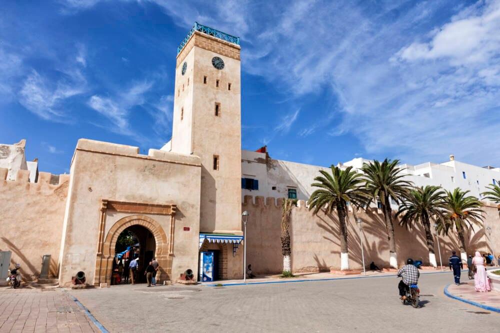 Blick auf die Medina von Essaouira