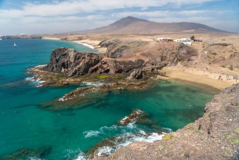 Die berühmten Papagayos-Strände auf Lanzarote