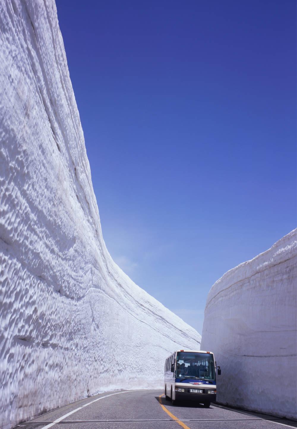 Japan Schneestraße