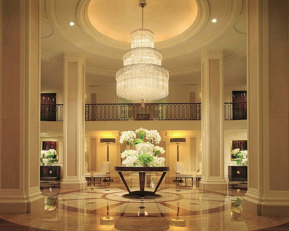 Das Foyer des Beverly Wilshire Hotels