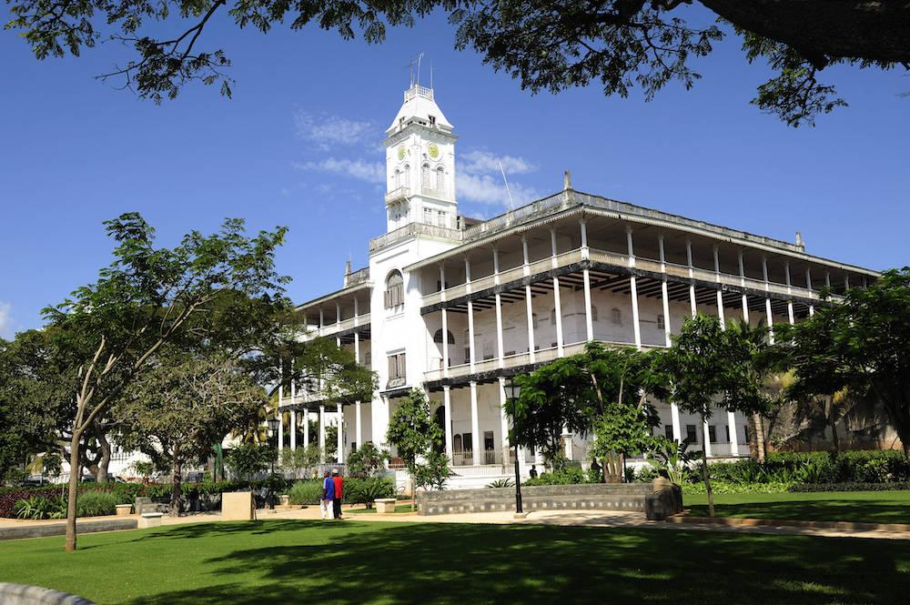 Über dieses Gebäude staunten die Sansibarer: das House of Wonders
