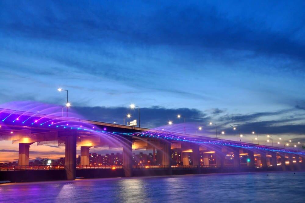 Brücken der Superlative Südkorea