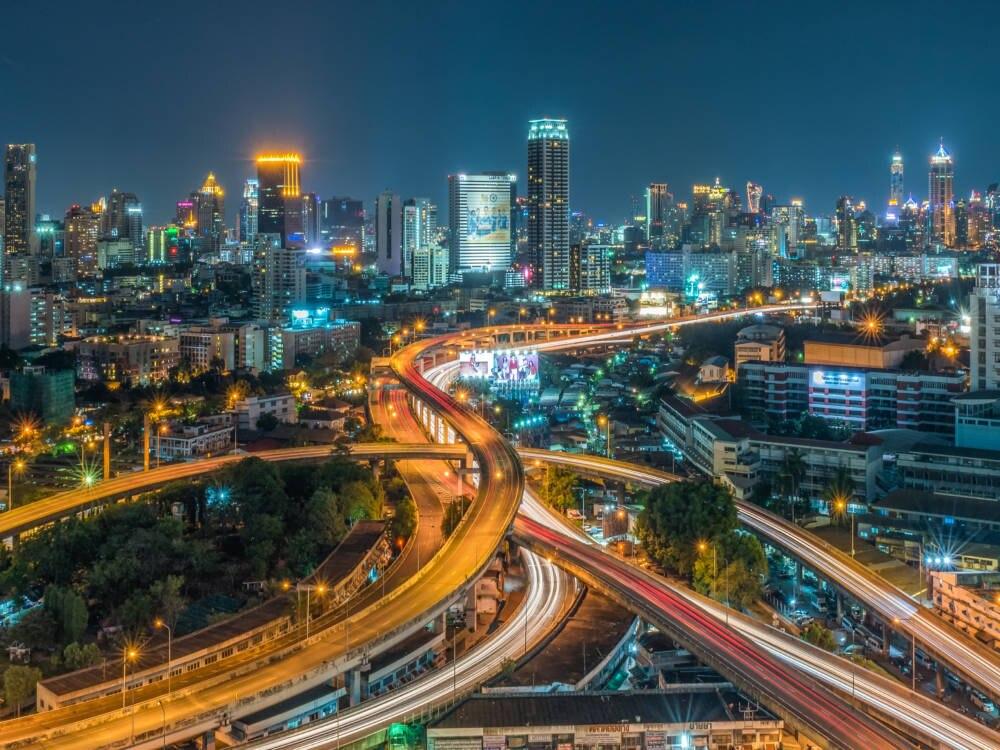 Brücken der Superlative Bangkok