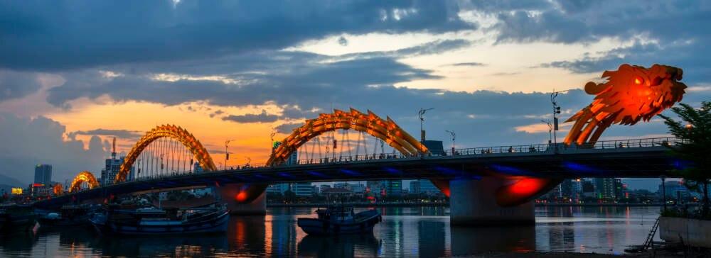 Dragon Bridge Brücken der Superlative