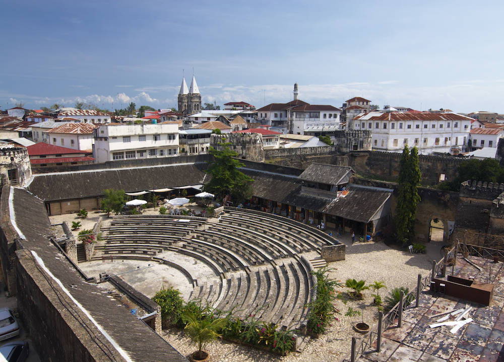 Einer der Top-Sehenswürdigkeiten in Stone Town: die alte Festung (Old Fort)