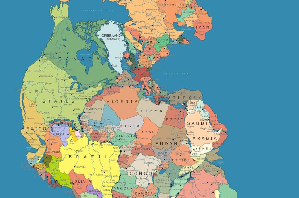Weltkarte Zeigt Welche Lander Einst Aneinandergrenzten Travelbook