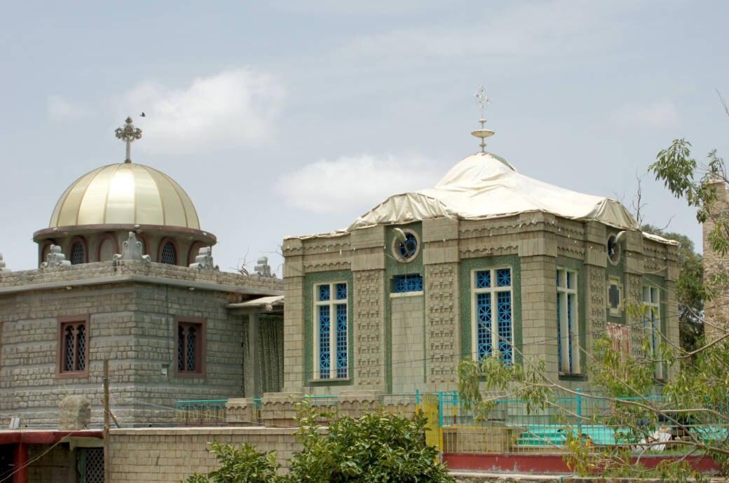 Kapelle der Kirche der Heiligen Maria von Zion in Axum