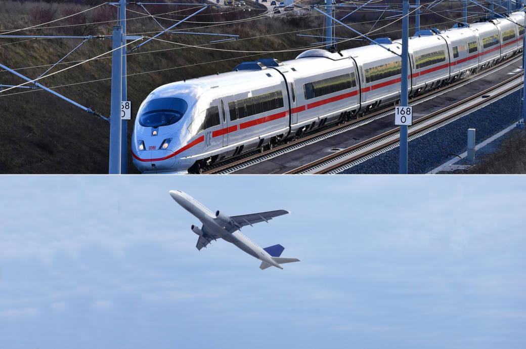 ICE Strecke Berlin – München