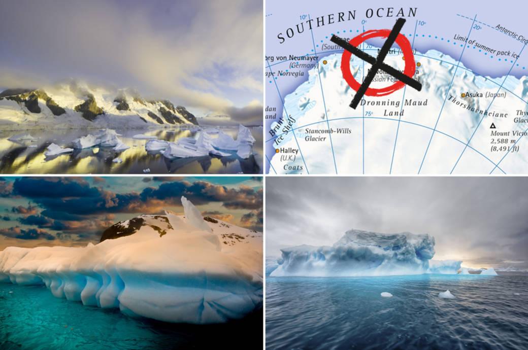 Antarktis, Königin-Maud-Land, Neuschwabenland