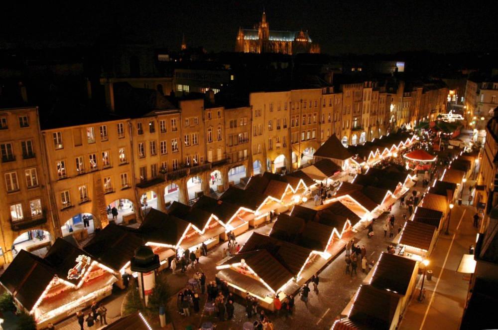 Weihnachtsmarkt in Metz