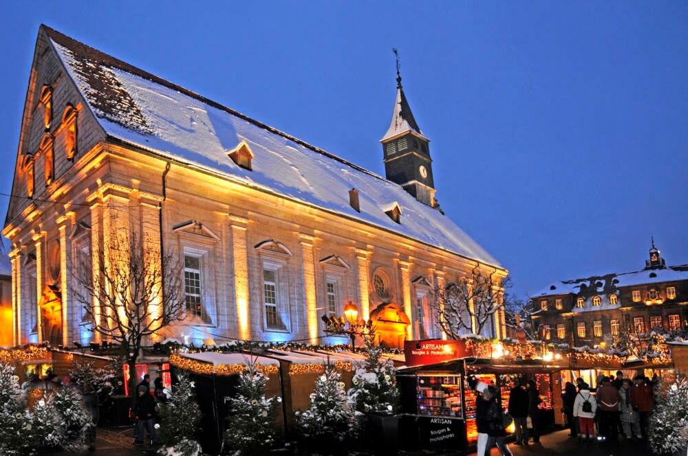 Weihnachtsmarkt in Montbéliard
