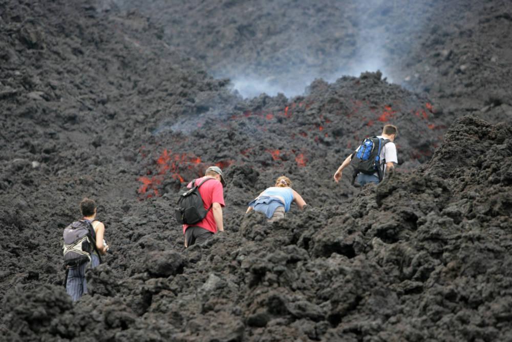 Pakaya Vulkan Wandern