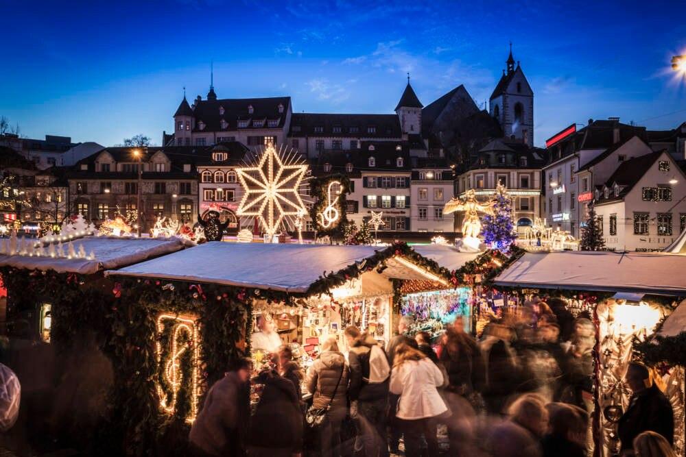 Weihnachtsmarkt in Basel
