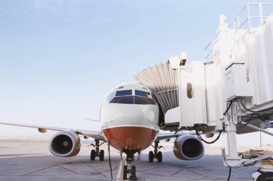 Flugzeug, Boarding