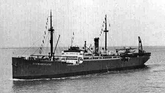 """Das Schiff """"Schwabenland"""""""
