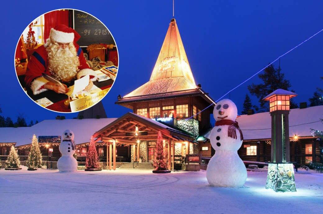 santa claus village das weihnachtsdorf in finnland. Black Bedroom Furniture Sets. Home Design Ideas