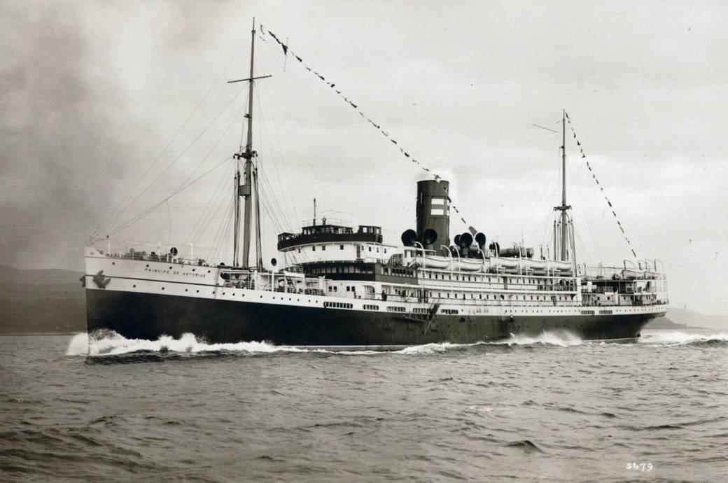 Spanische Titanic Príncipe de Asturias